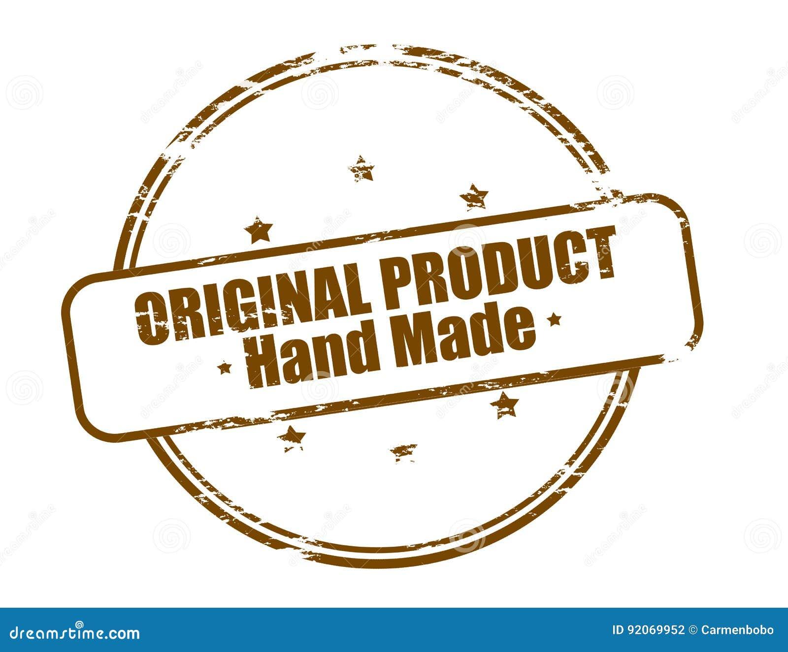 Original- gjord produkthand -