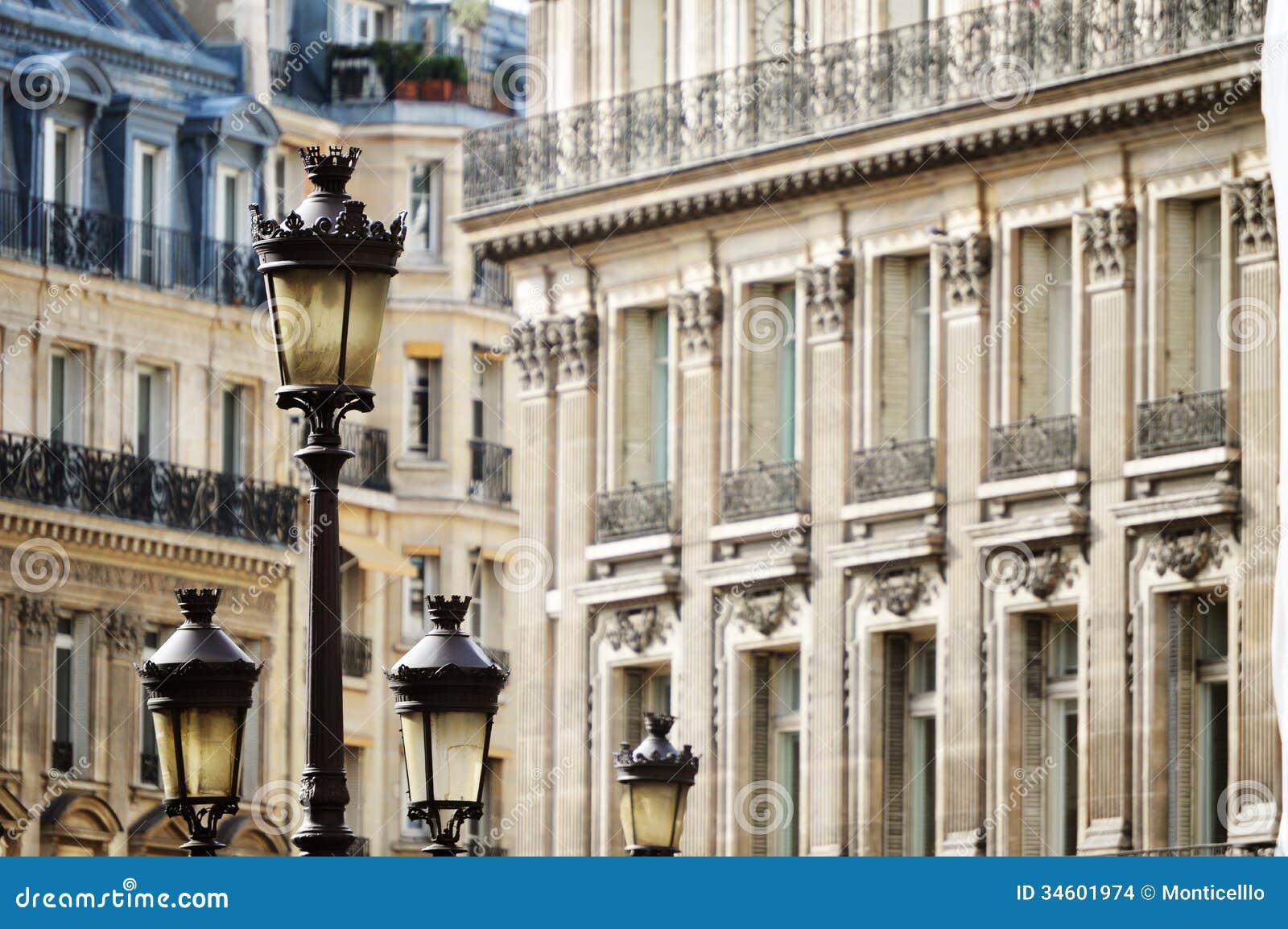 Original historic parisian architecture stock images for Origine architecture