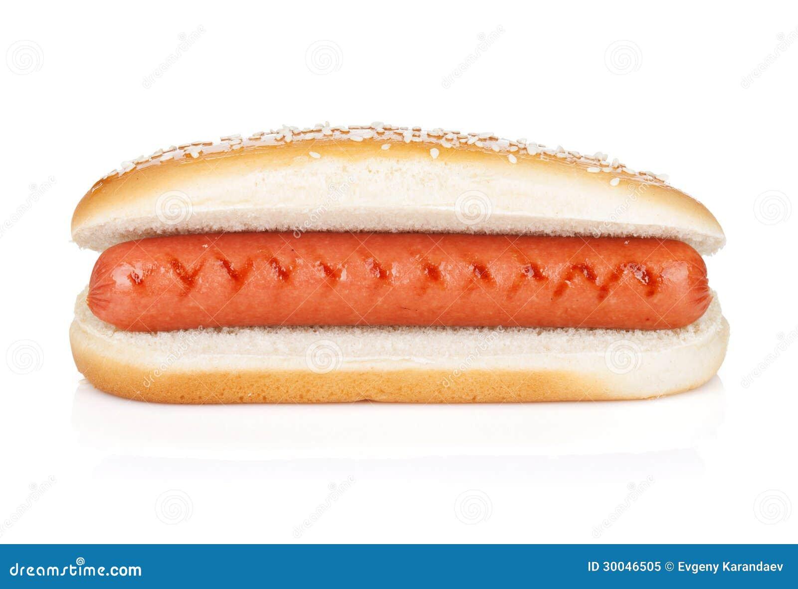 original hot dog royalty free stock photo image 30046505. Black Bedroom Furniture Sets. Home Design Ideas