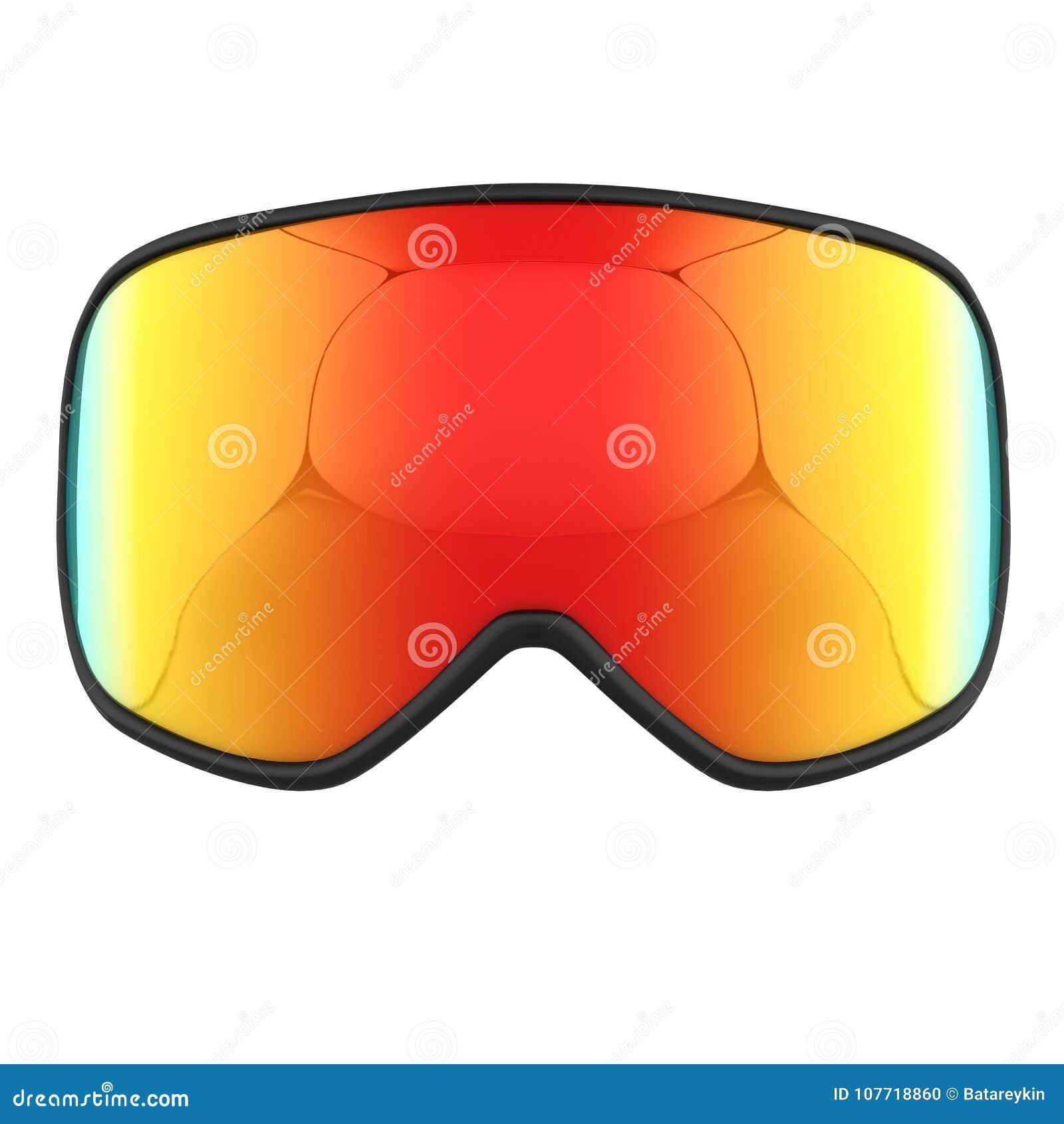Modern Snowboard Goggles Stock Illustration Illustration Of Eyewear 107718860