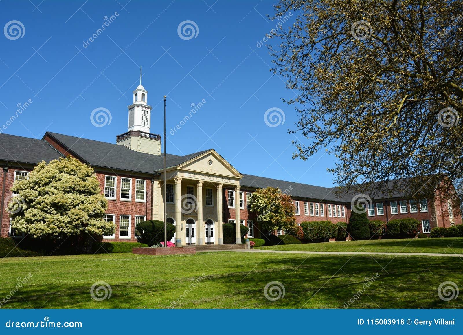 North High School in Salem, Oregon