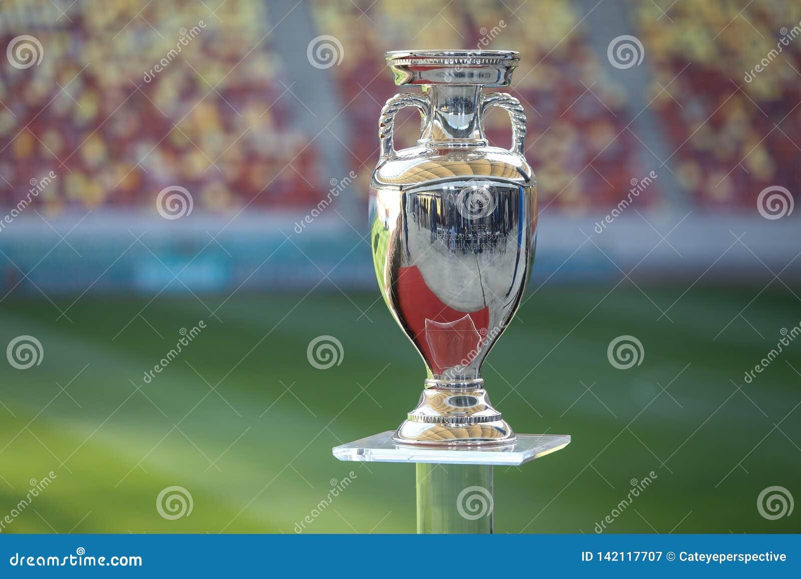 The Original UEFA Euro 2020 Tournament Trophy Editorial ...