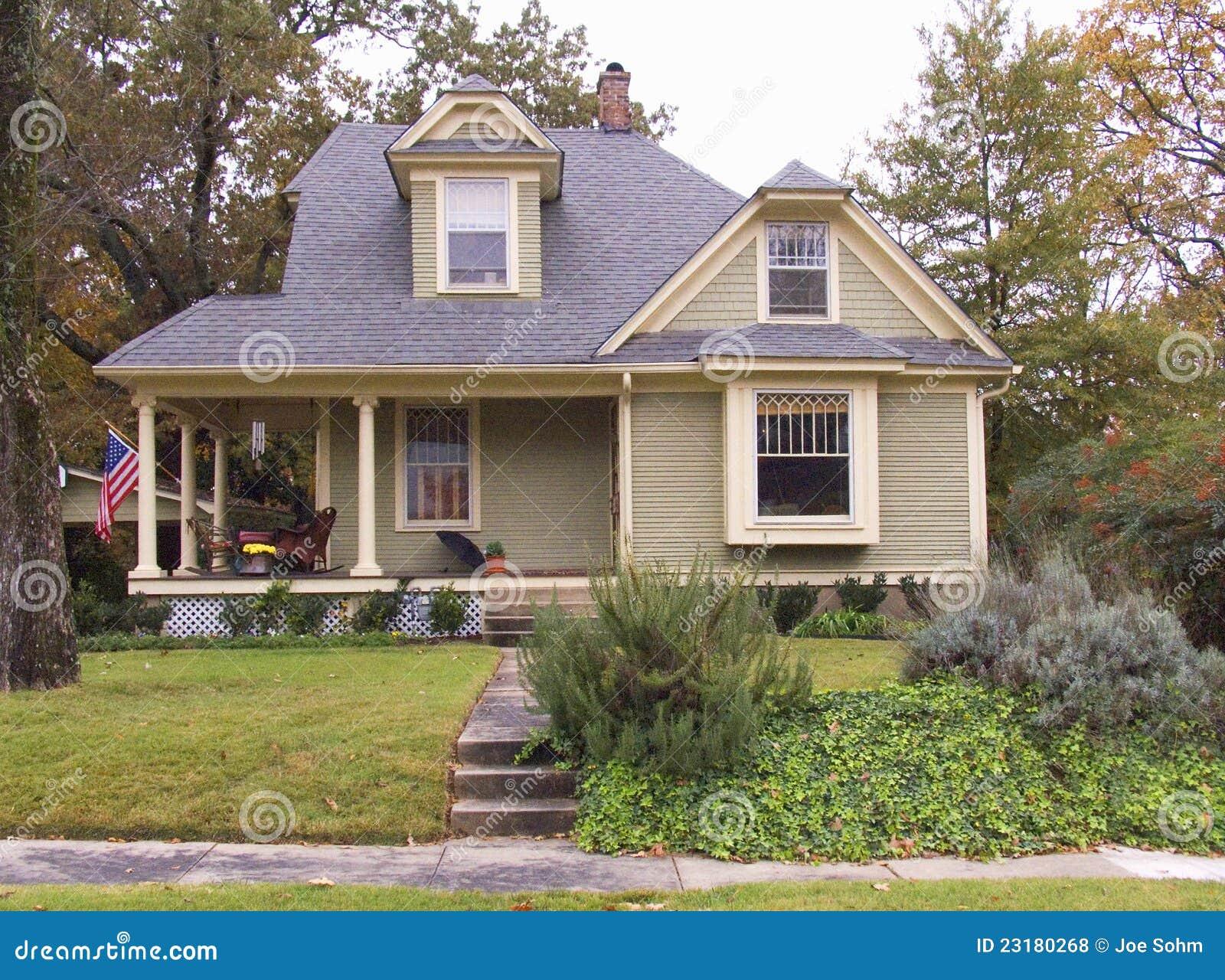Origineel huis dat door rekening en hillary clinton wordt bezeten redactionele stock foto - Huis origineel huis ...