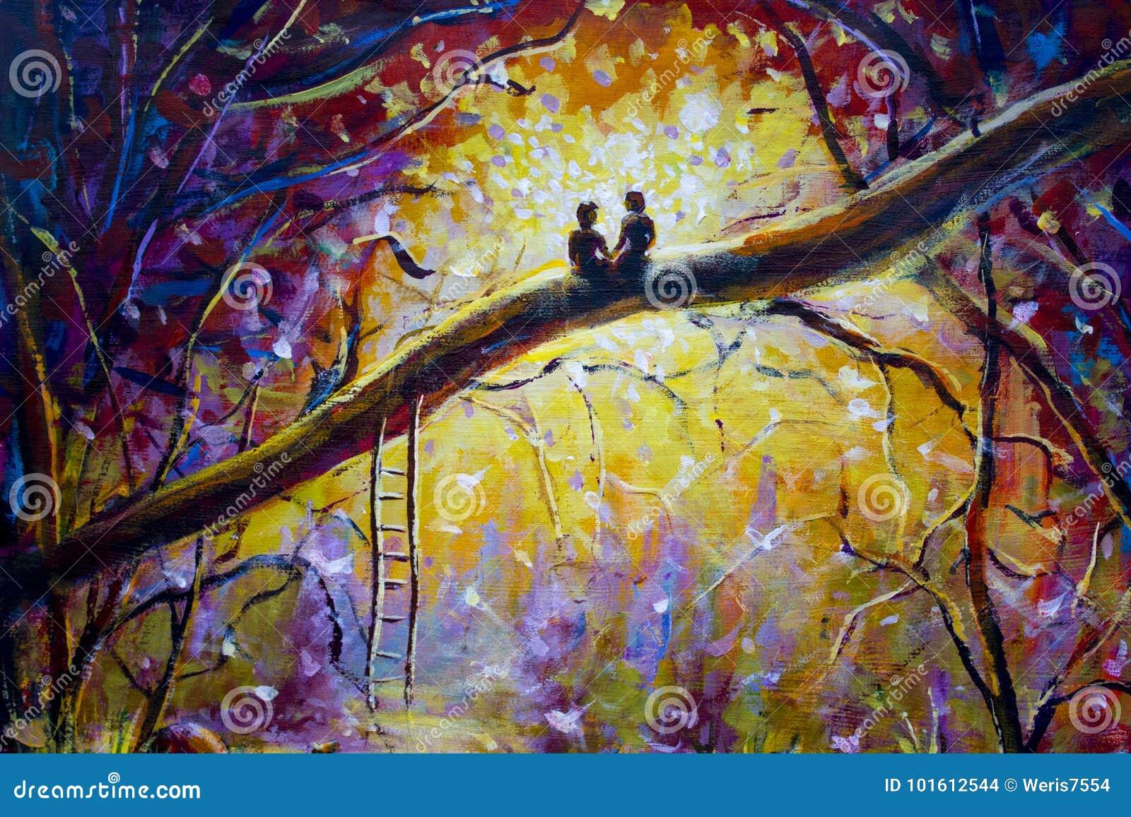 De schilder en het meisje