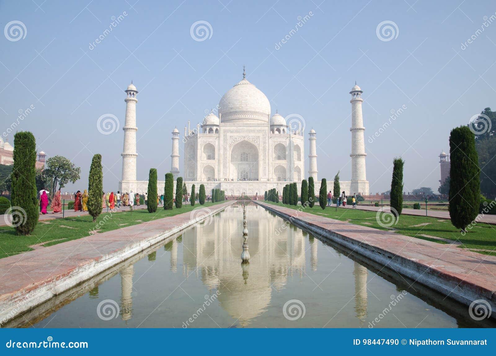 Origineel, Taj Mahal Seven Wonders Concept, India,