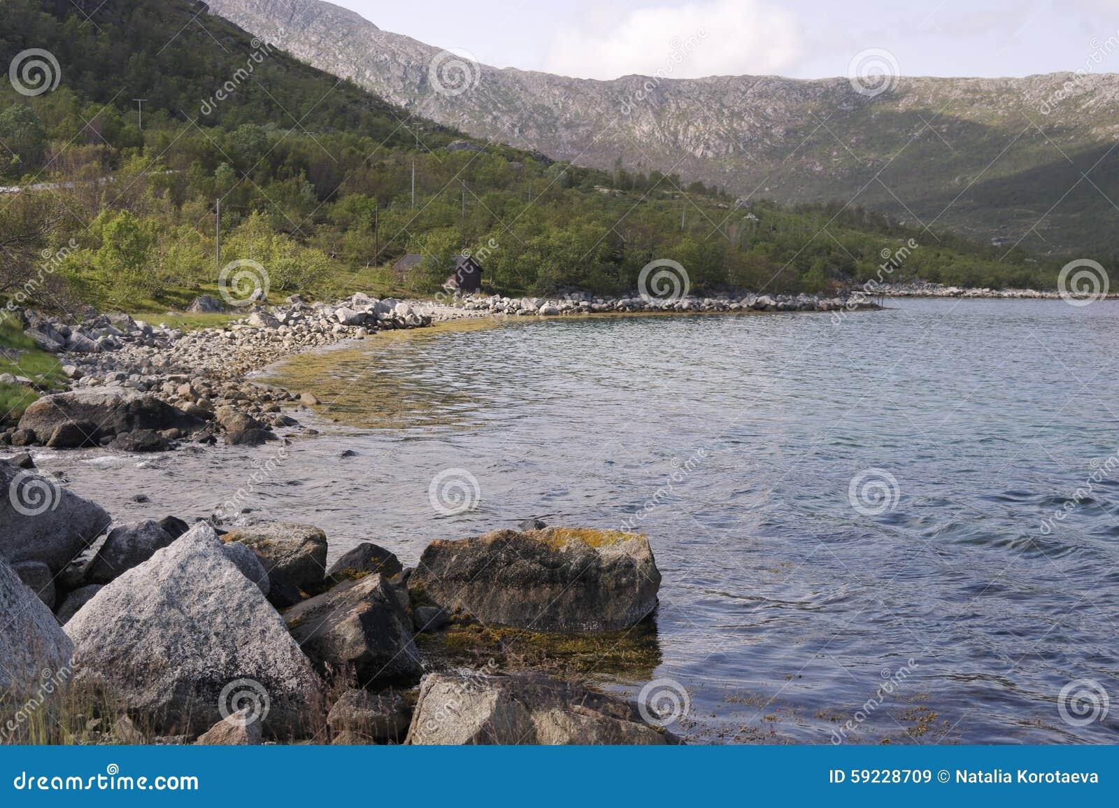 Orilla de mar en Noruega