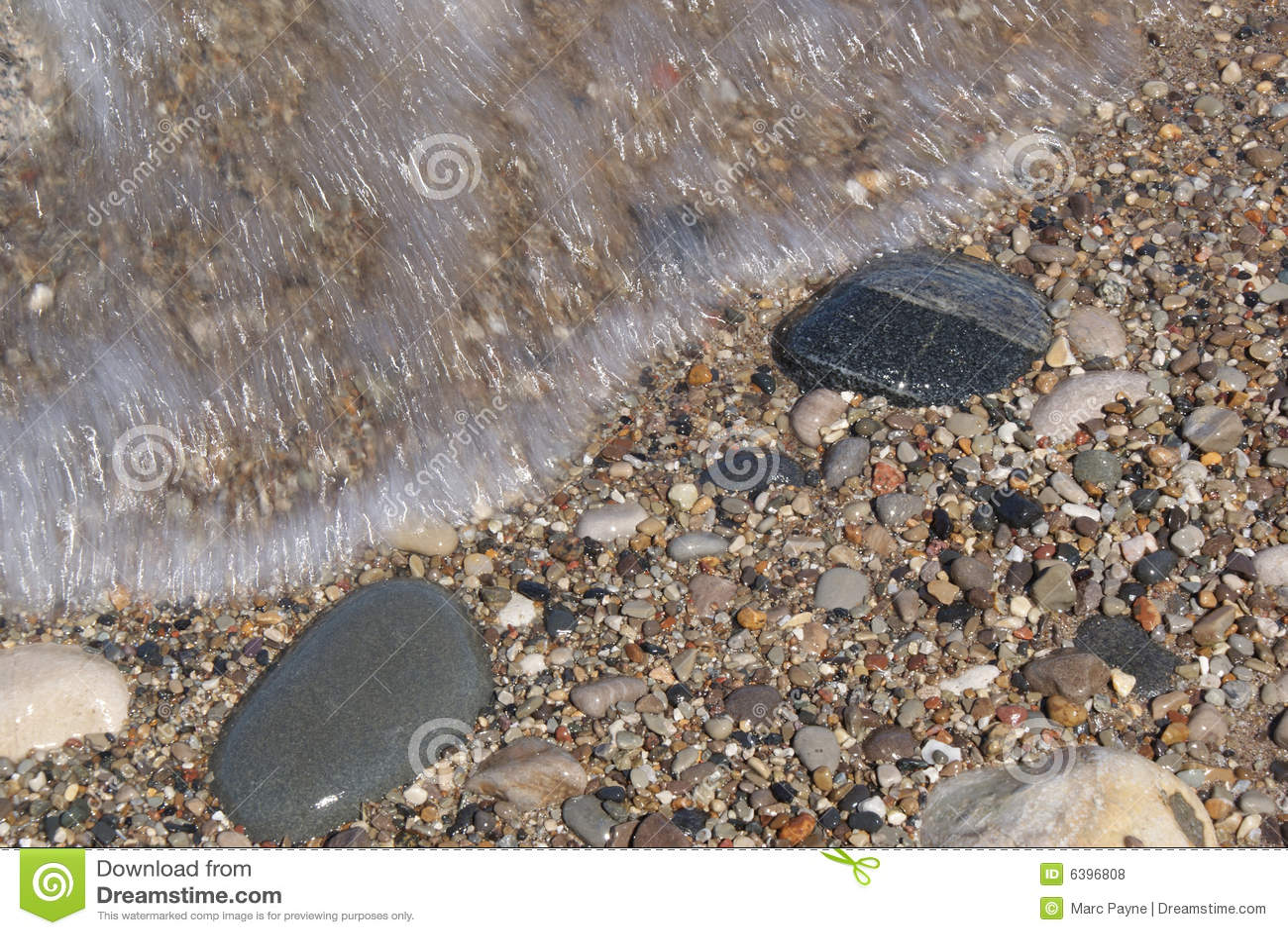 Orilla de Michigan de lago