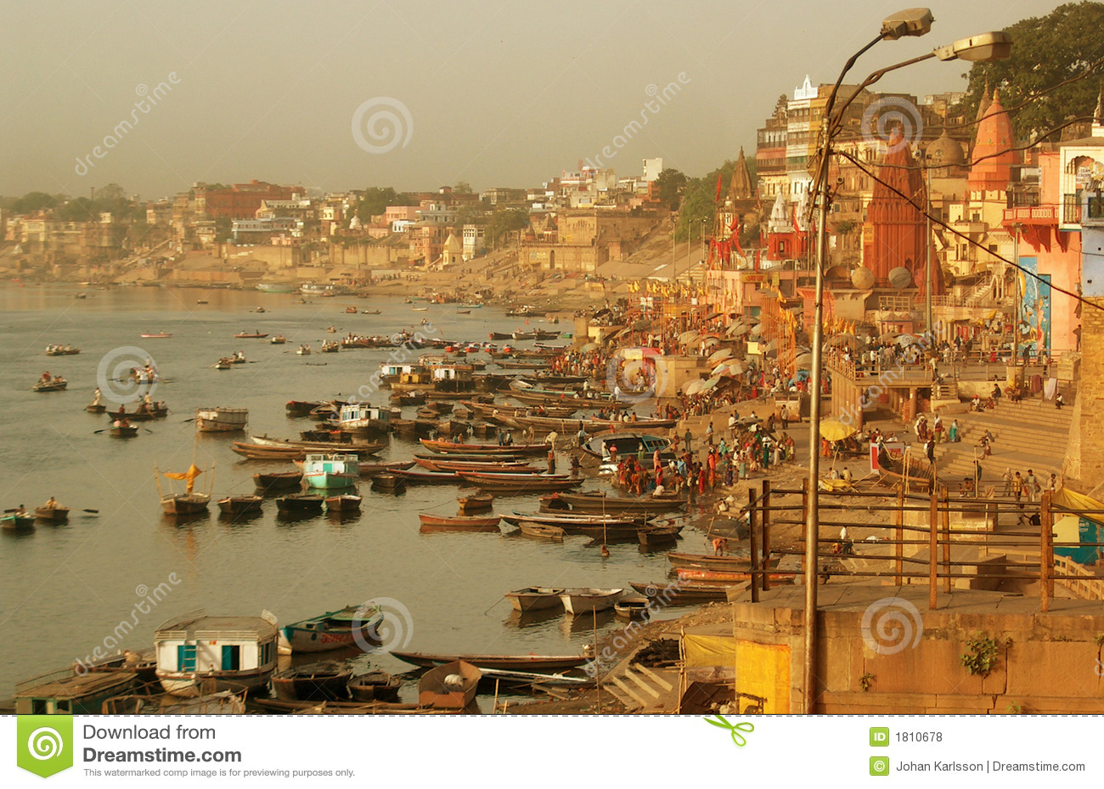 Orilla de Varanasi