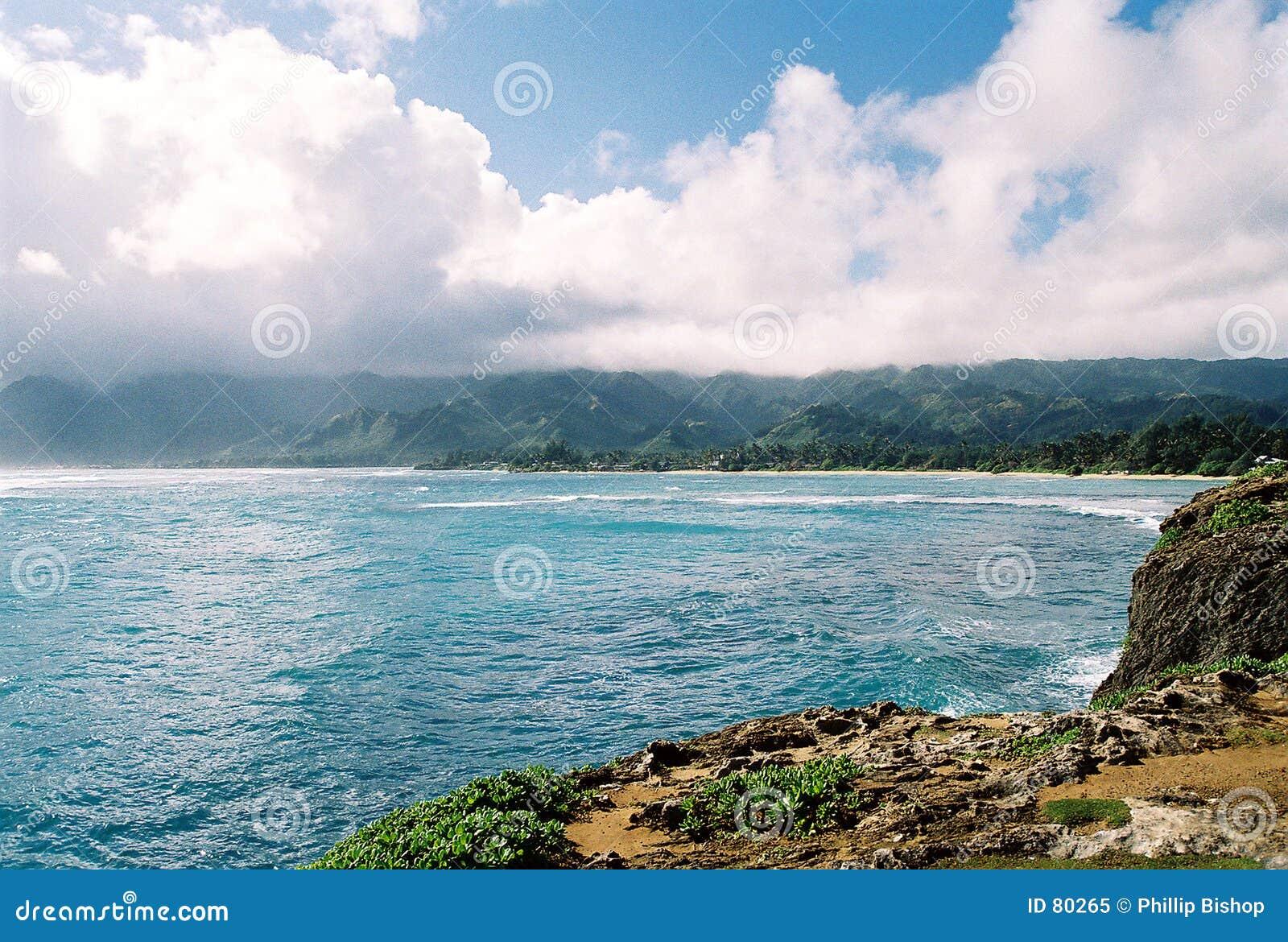 Orilla del norte Oahu