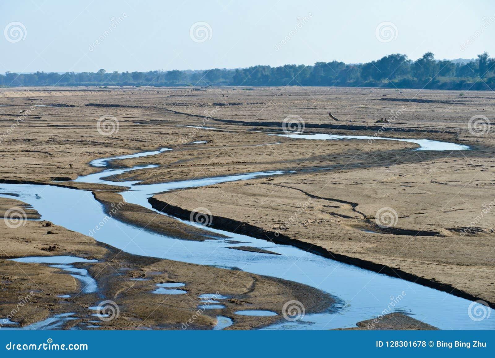 Orilla del río del Limpopo