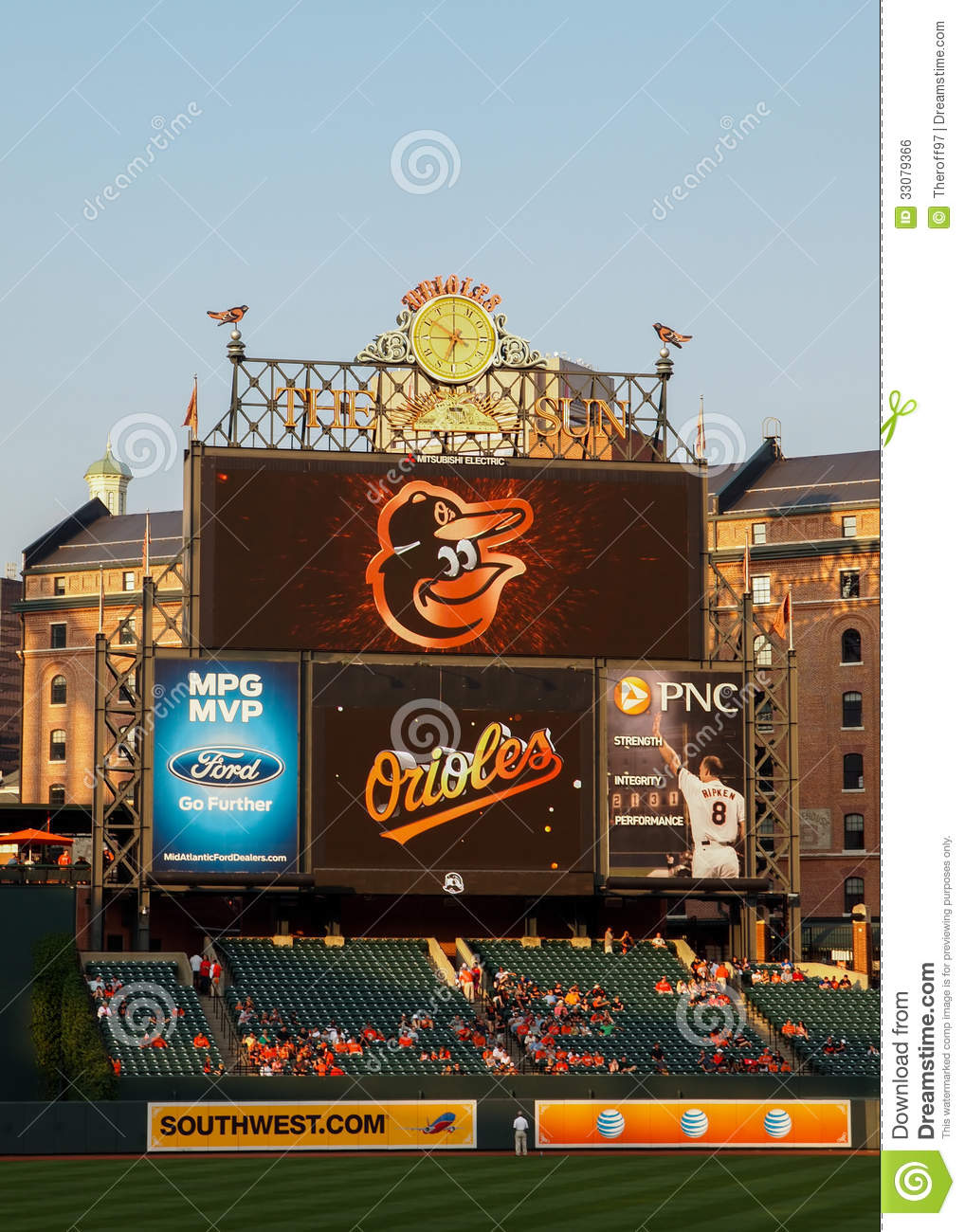 Oriole Park At Camden Yards Editorial Photo Image 33079366
