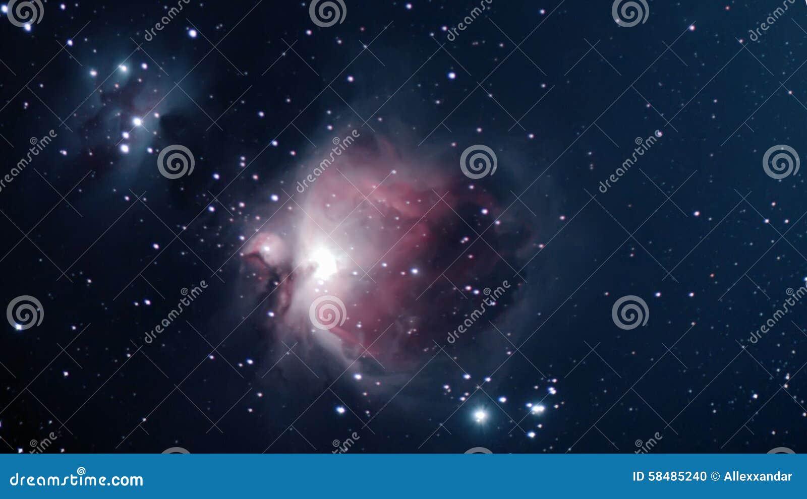 Orion Nebula Night Sky Deep Space Beautiful Night Sky ...