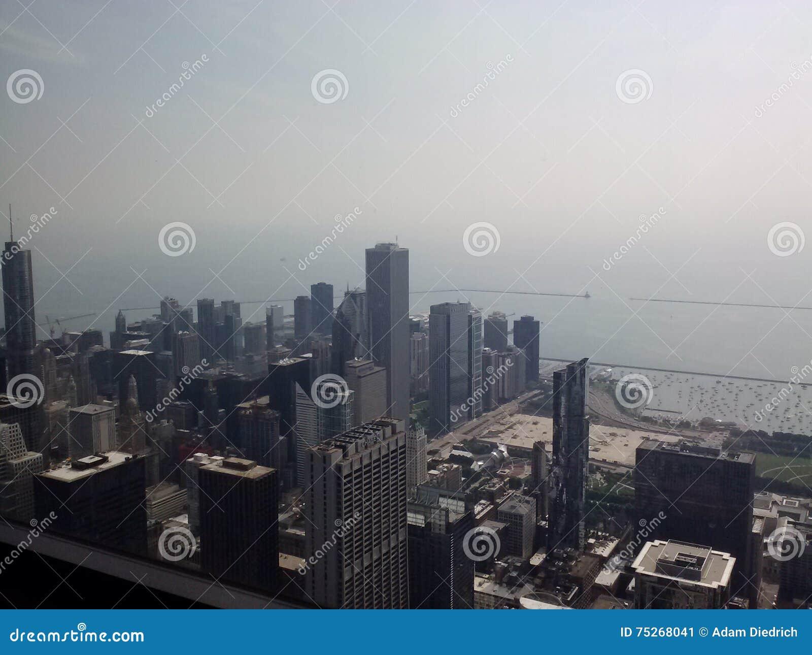 Orizzonte della città