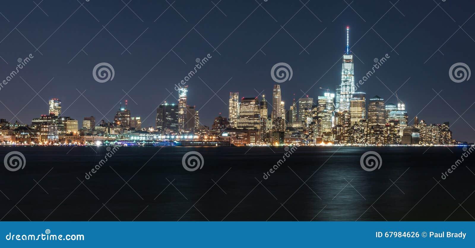 Orizzonte di Manhattan New York