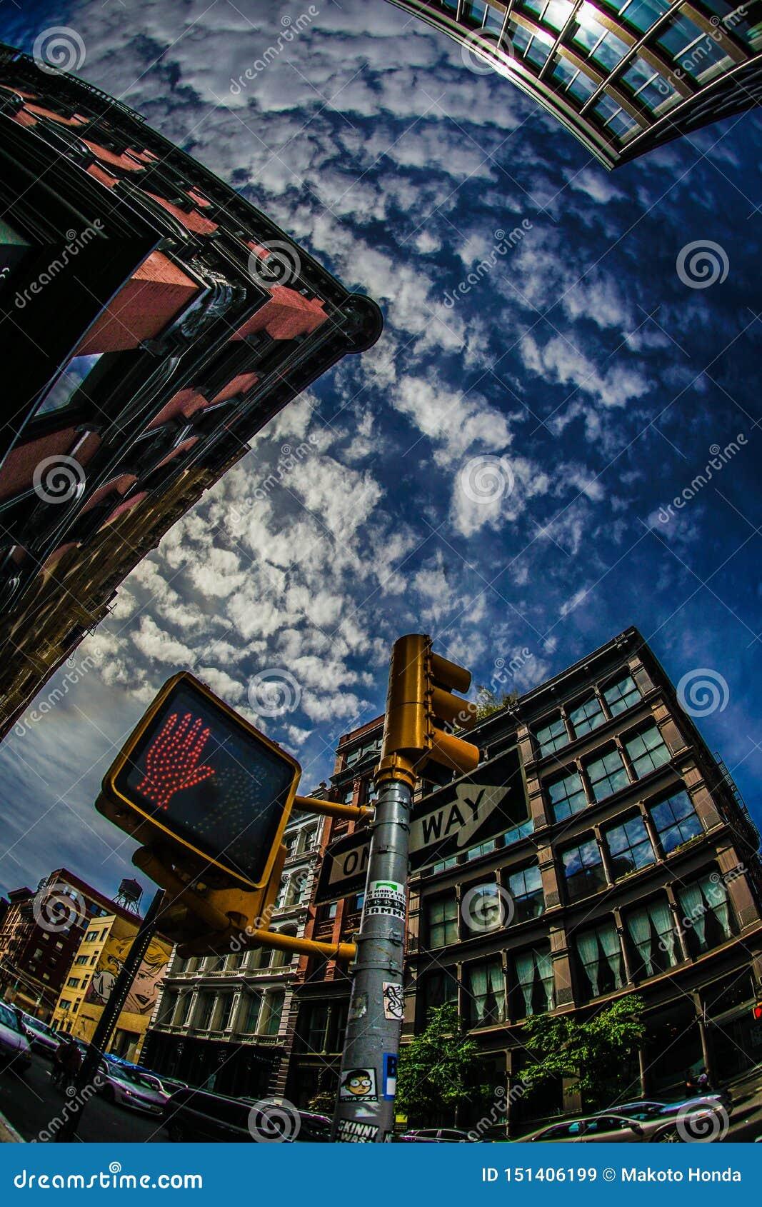 Orizzonte di Manhattan, New York