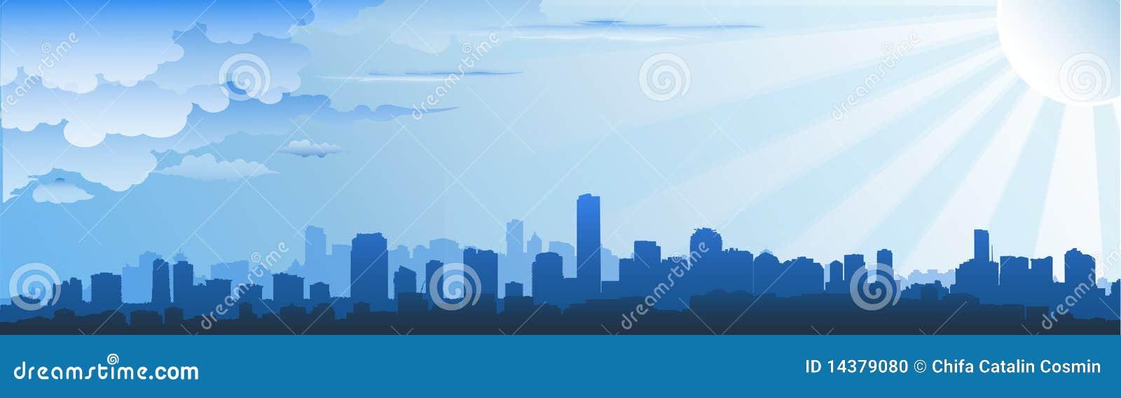 Orizzonte di paesaggio urbano