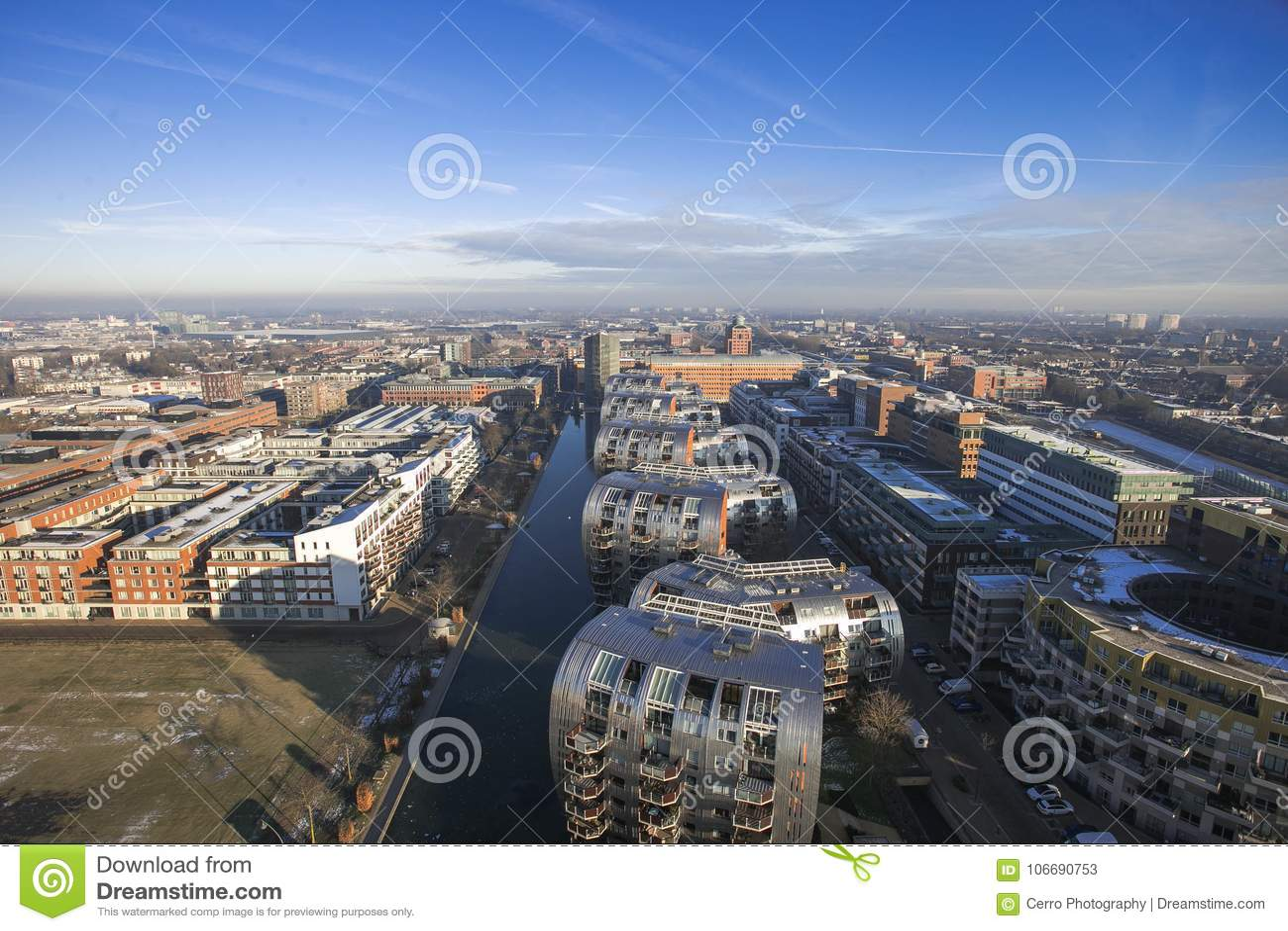 Orizzonte nei Paesi Bassi