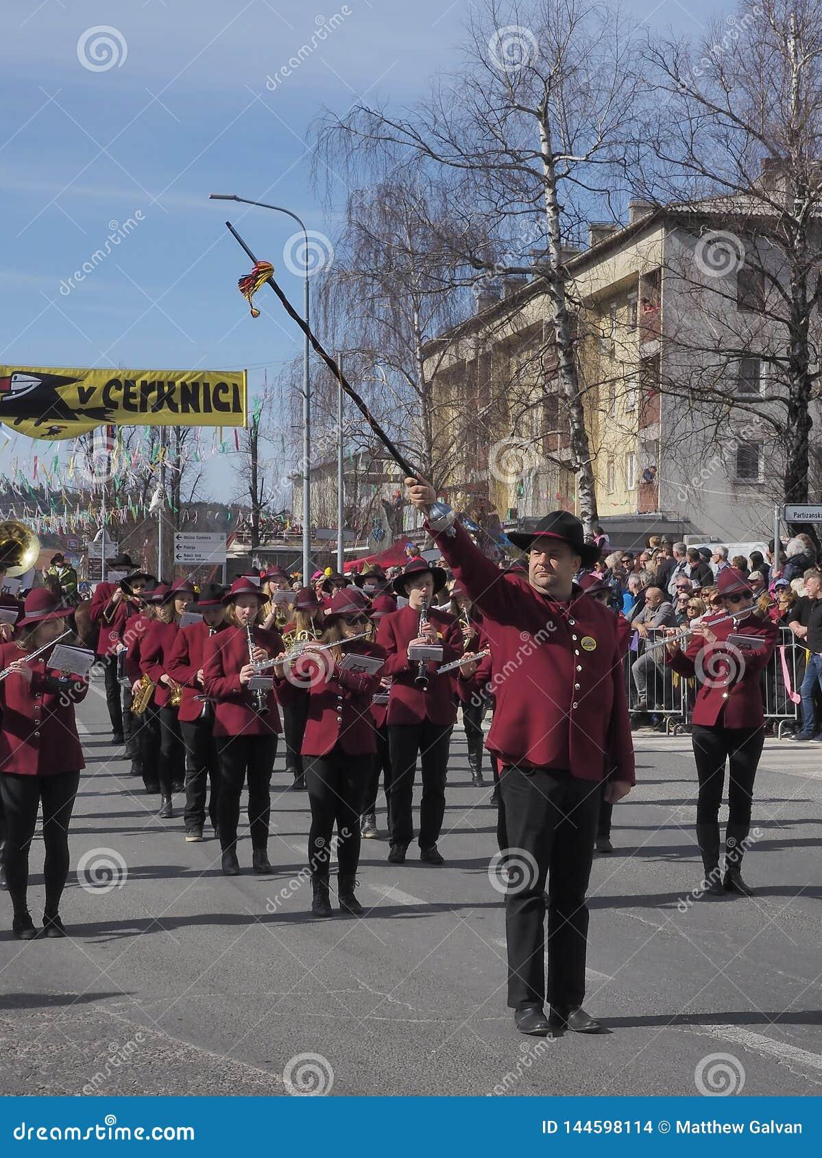 Orkiestra marsszowa b?benu wa?ny