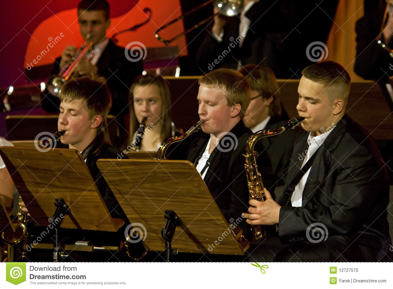 Orkiestry symfoni woodwinds