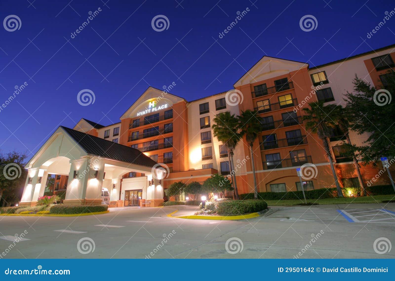 ORLANDO - 2 FEBRUARI: Hotel Hyatt Regency in Orlando, Florida, de V.S.
