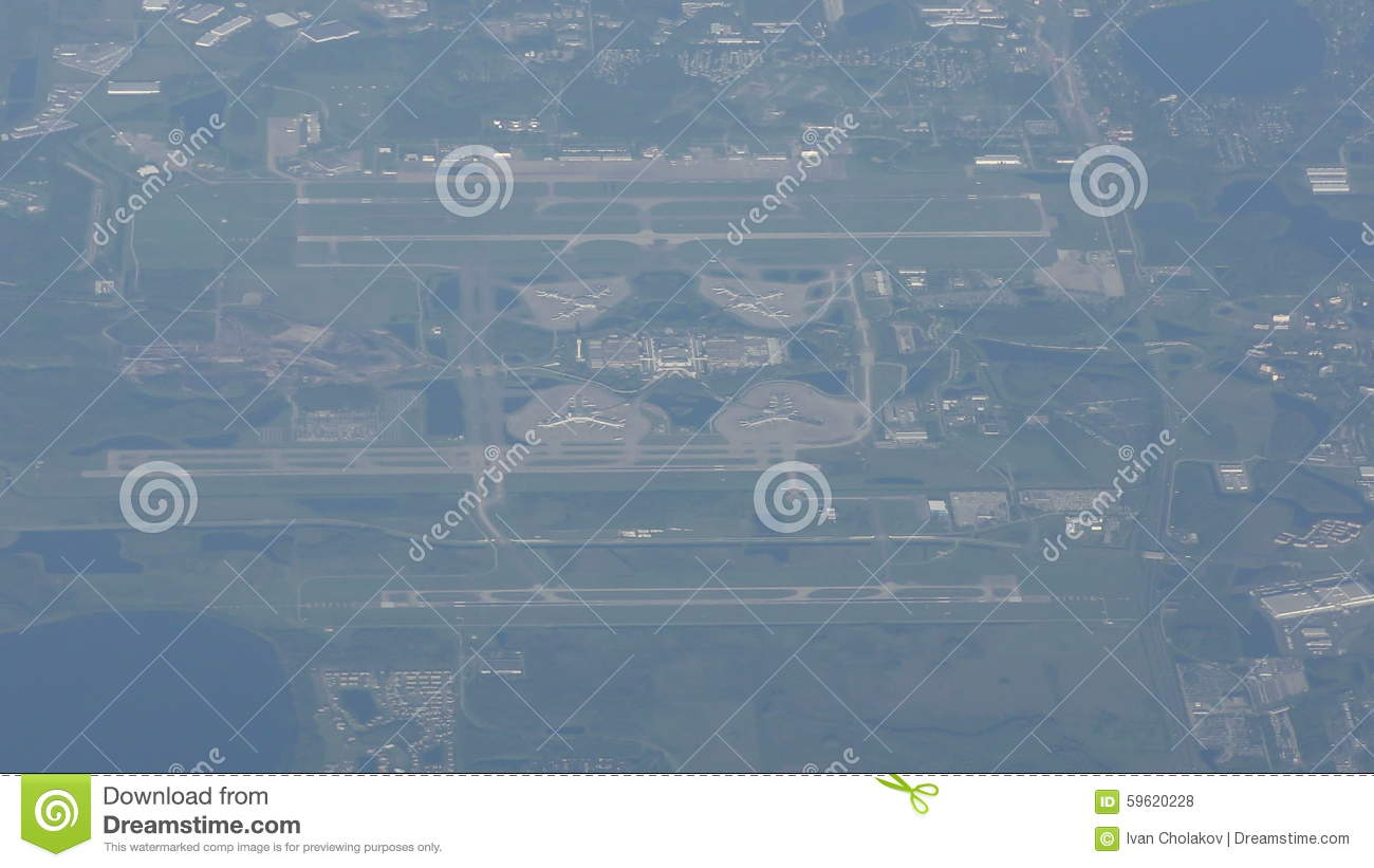 Orlando Airport From Above Stock Footage Image Of Florida 59620228