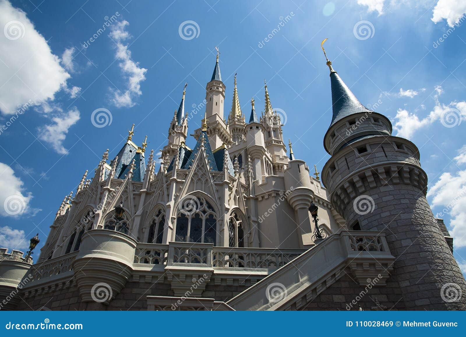 Orlando, beeld van het kasteel bij Disney-Wereld
