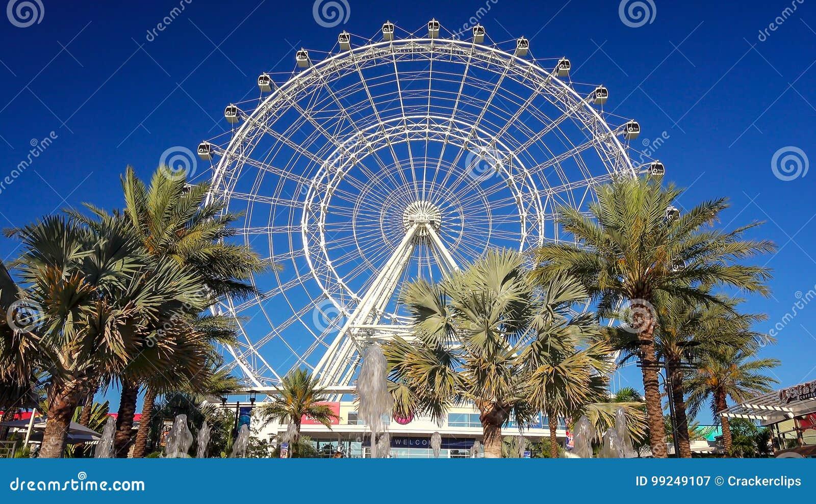 Orlando Eye Observation Wheel in Orlando, Florida