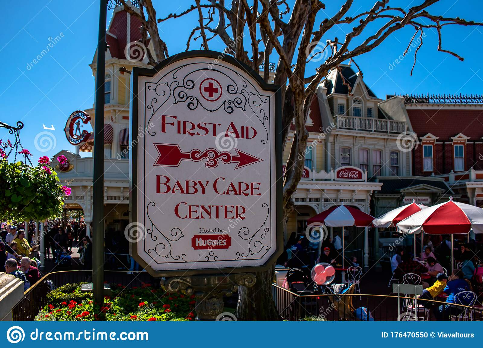 First Aid And Baby Center Care Sign At Magic Kingdom 40 ...