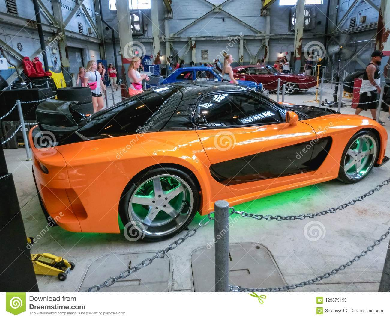 Orlando Florida USA May The The New Fast Furious - Car show in orlando 2018