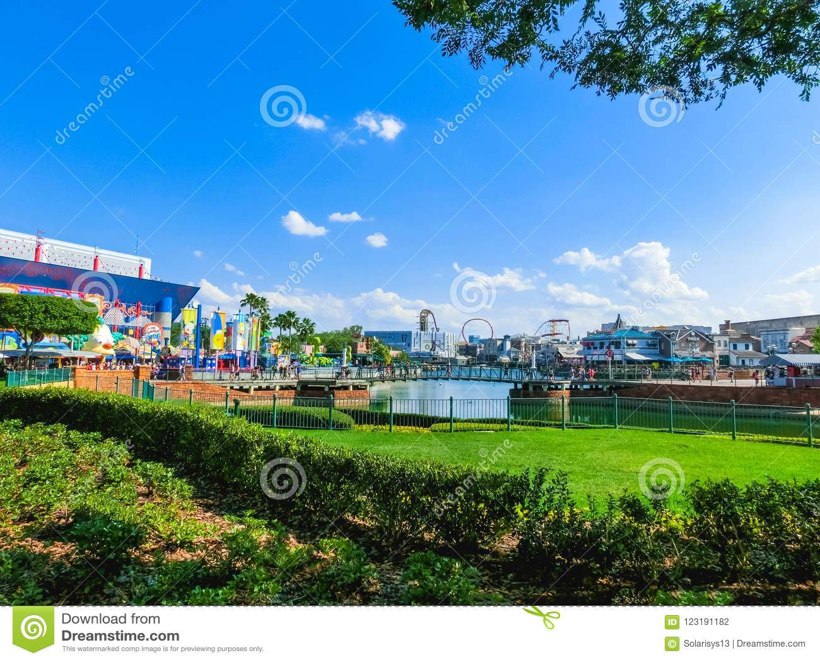 Map Of Universal Studios Florida.Orlando Florida Usa May 10 2018 The Pond At Park Universal
