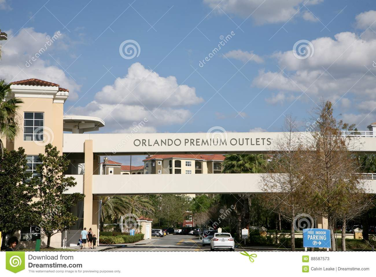 Orlando Shopping Outlets >> Orlando Premium Outlets Editorial Stock Photo Image Of