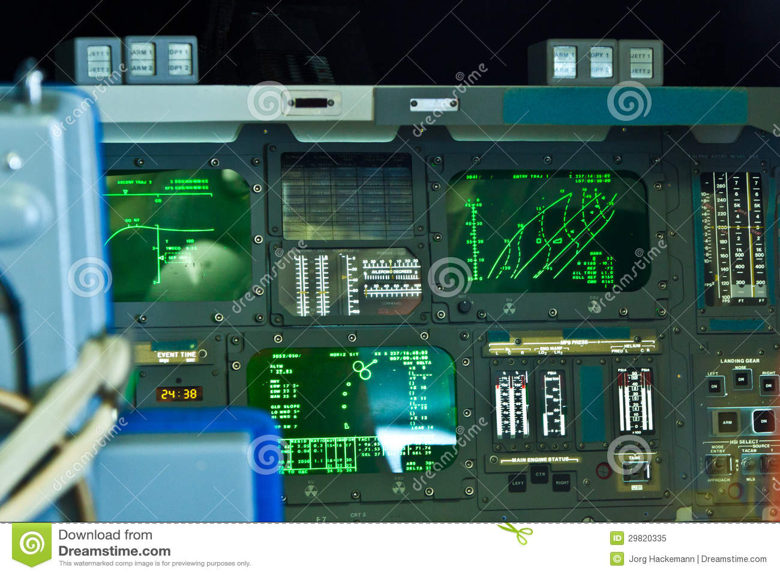 space shuttle original cockpit - photo #24