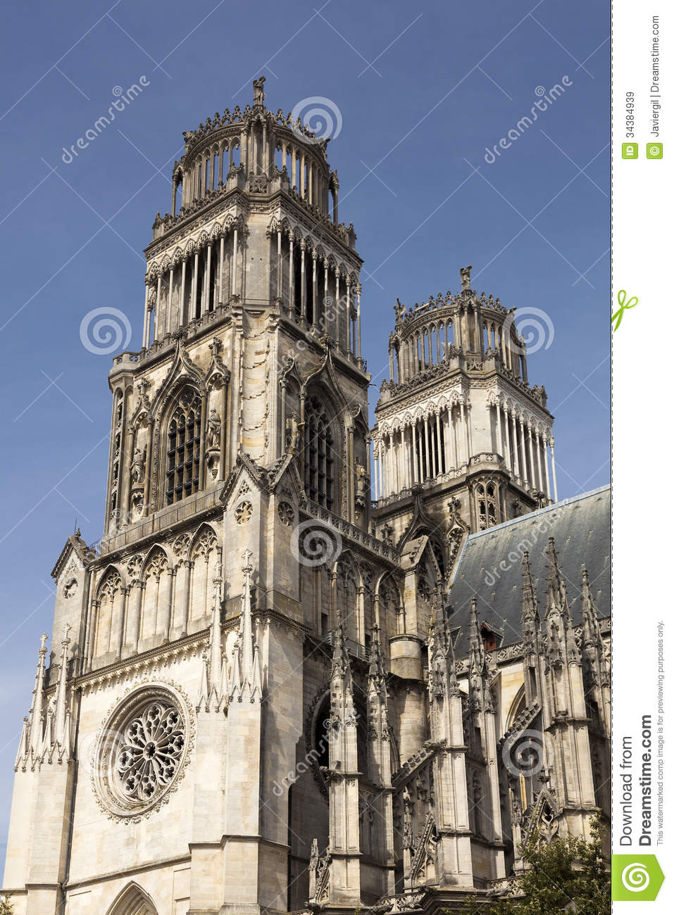 Orleans cathedral royalty free stock images image 34384939 for Loiret orleans