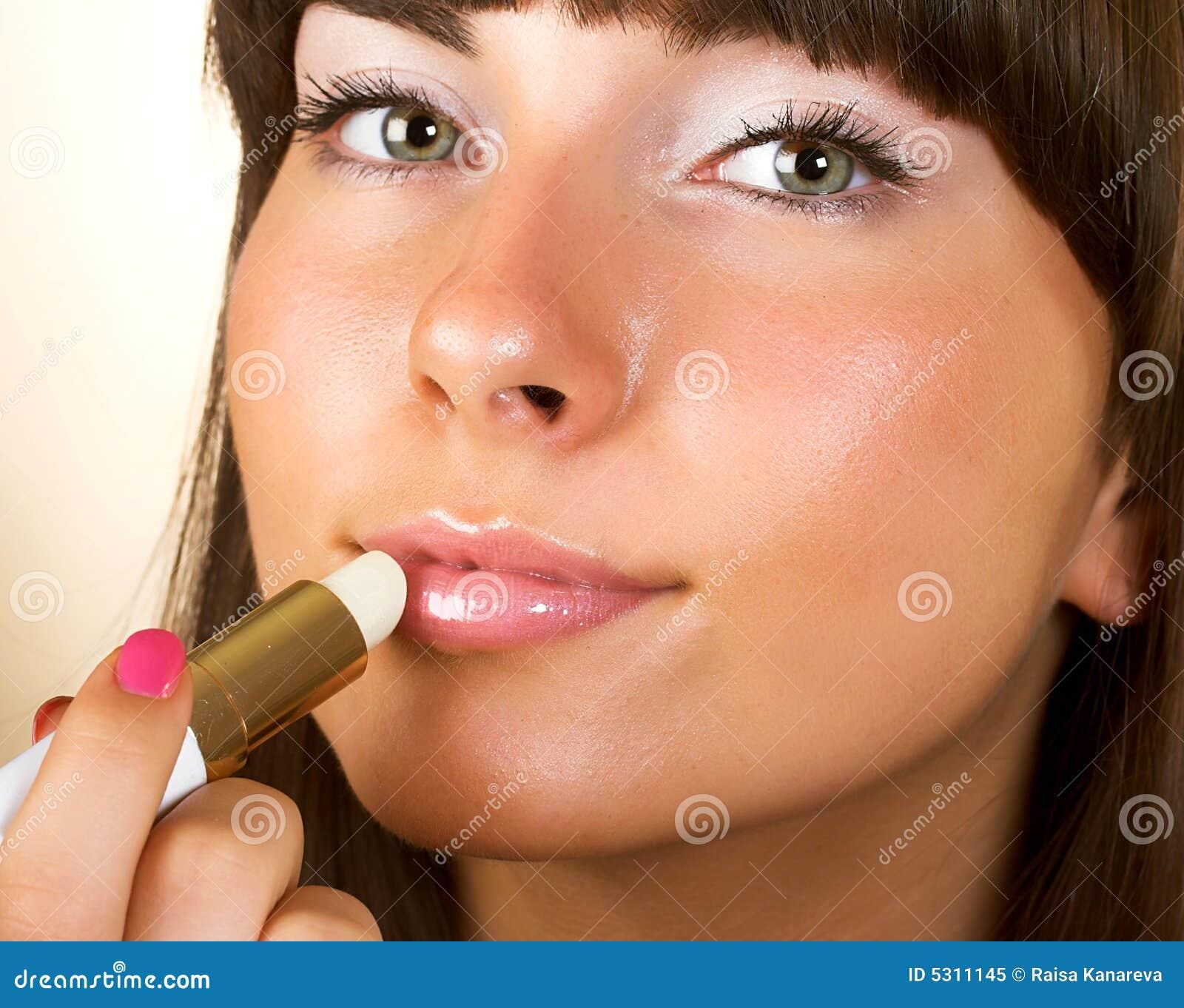 Download Orli Di Lucentezza Della Donna Del Primo Piano Immagine Stock - Immagine di glamor, corpo: 5311145