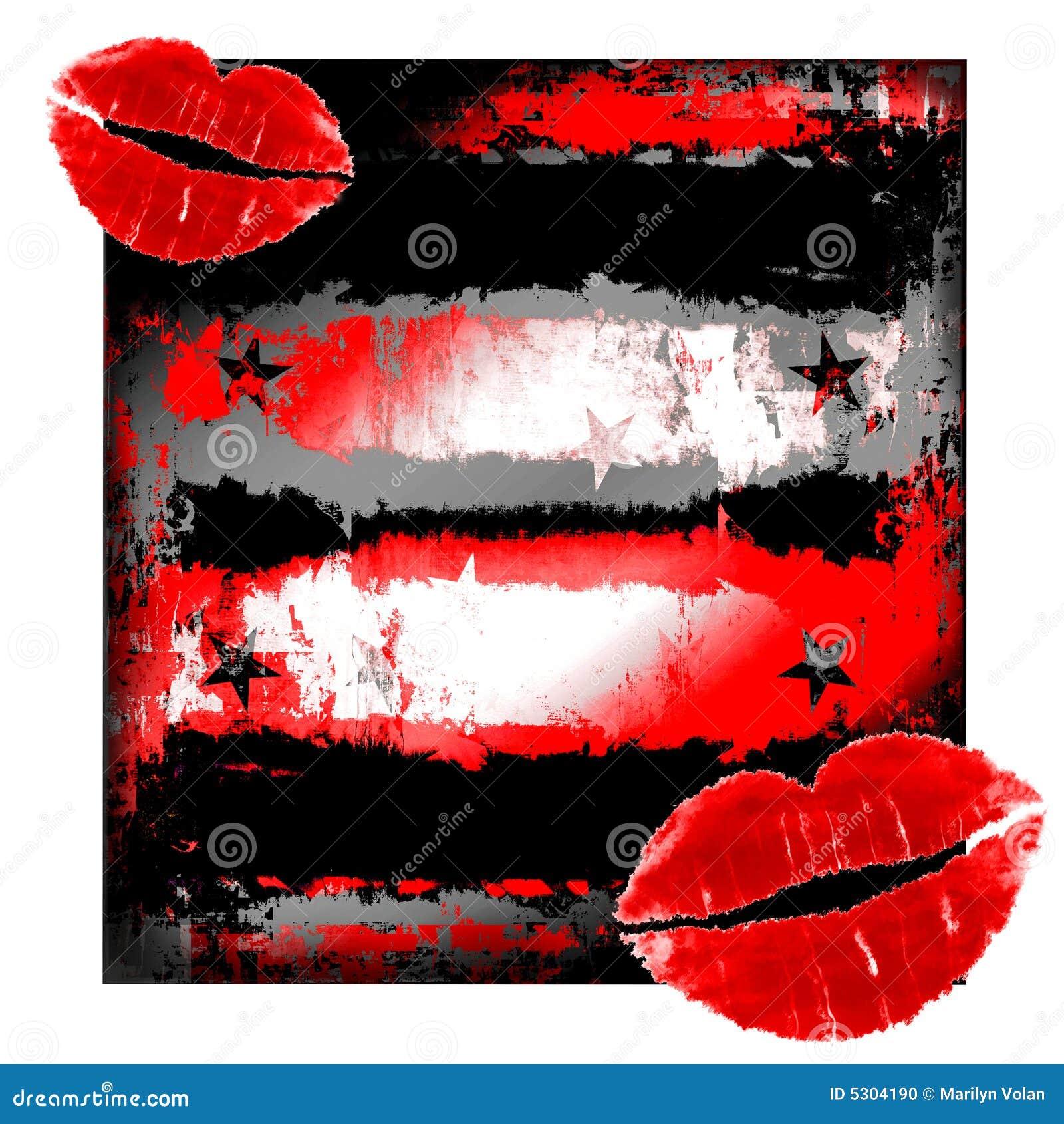 Download Orli su Grunge illustrazione di stock. Illustrazione di illustrazione - 5304190