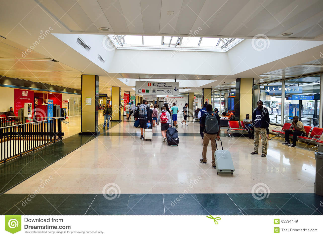 Aeroporto Orly : Orly airport editorial stock photo. image of airway passenger