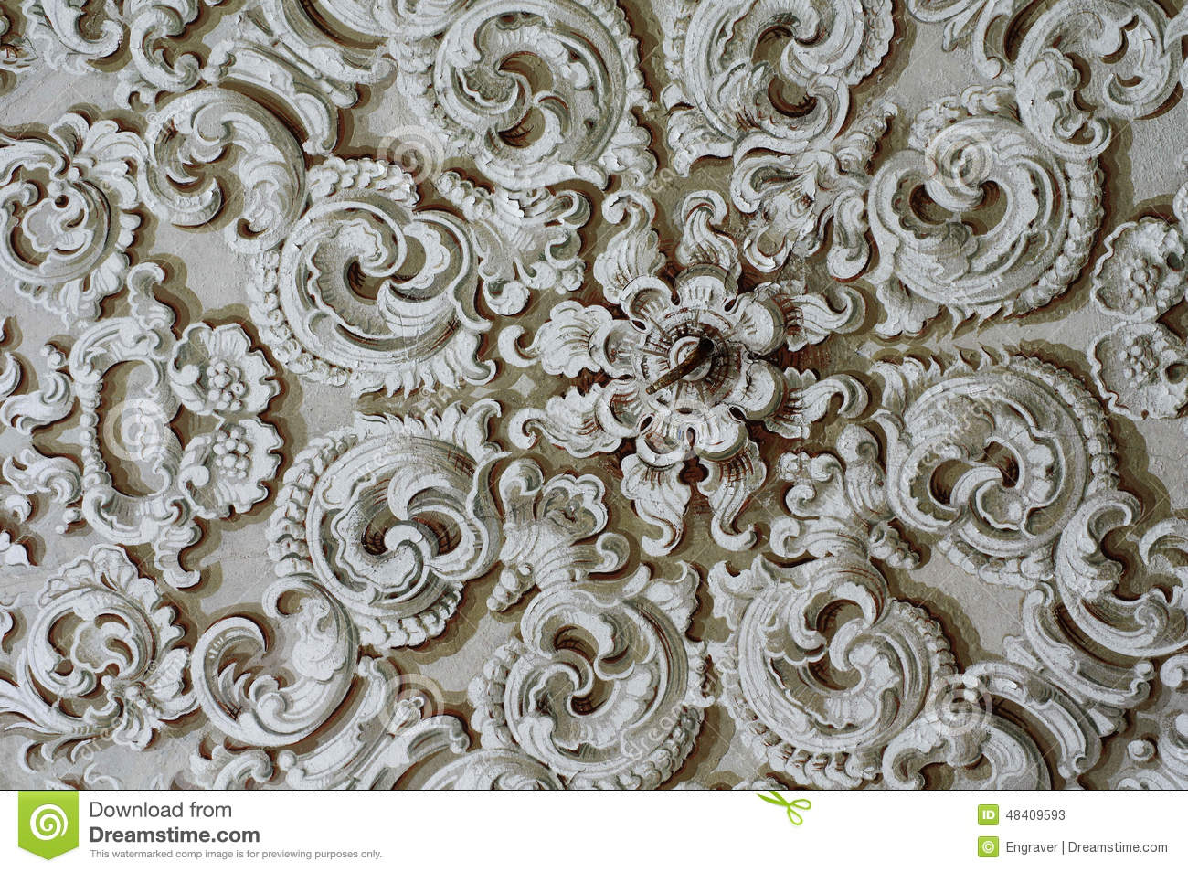 Baroque ceiling texture energywarden ornament baroque detail ceiling stock image of textured dailygadgetfo Image collections