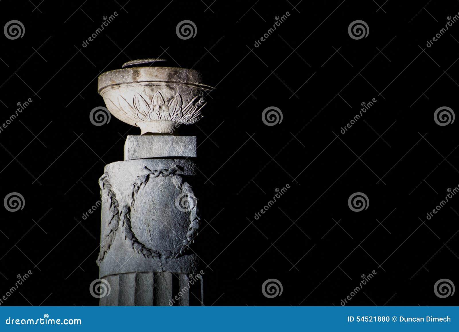 Ornament na filarze