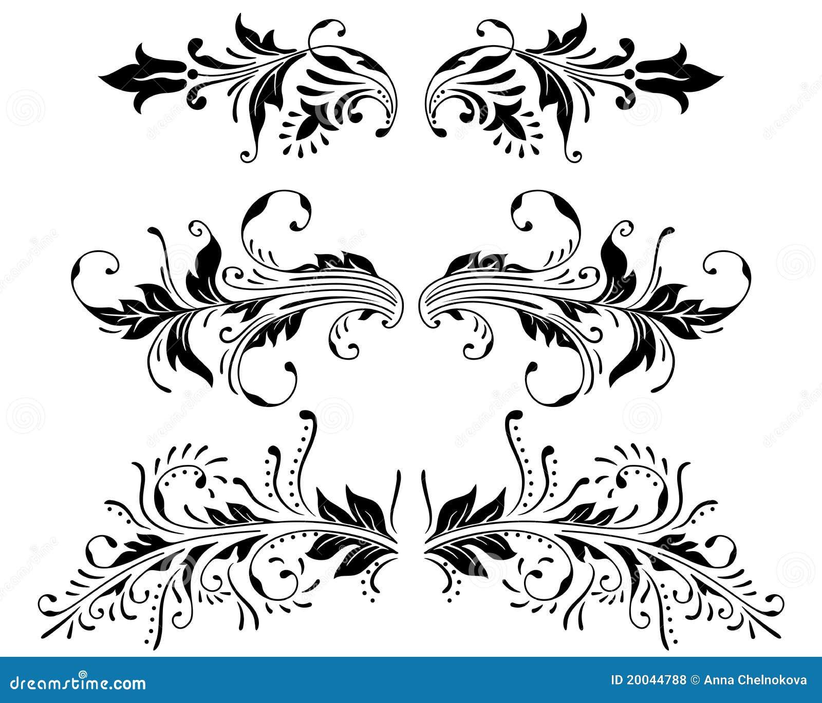 Line Art Design Vector Free Download : Ornament vector elements stock illustration of