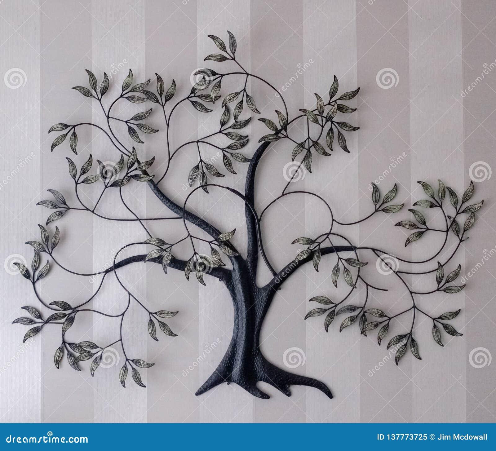 Ornamental Cast Iron Tree Of Life On ...