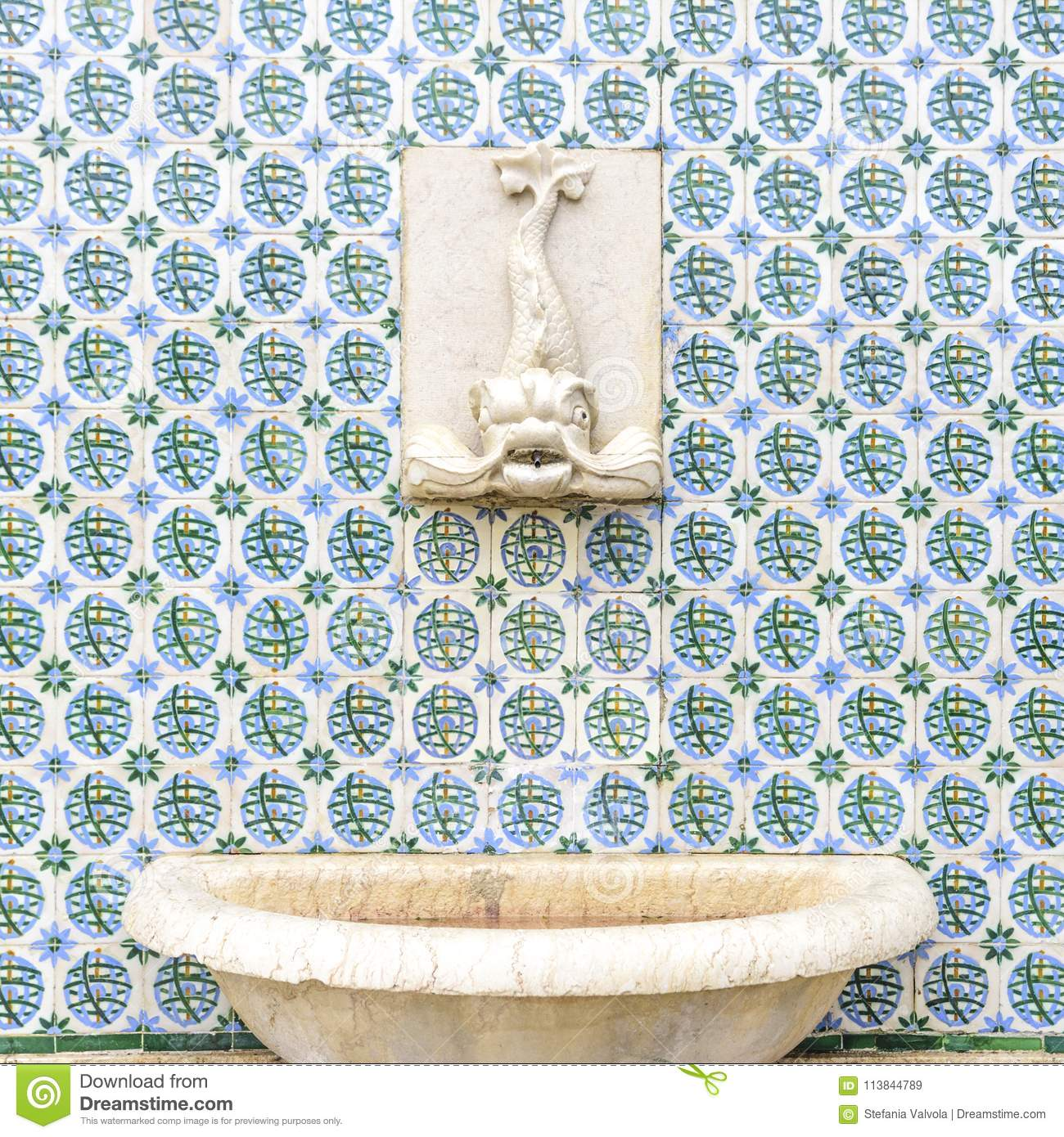 Of Lisbon The Facades Ceramics Features Ornamental In Color W2HED9I