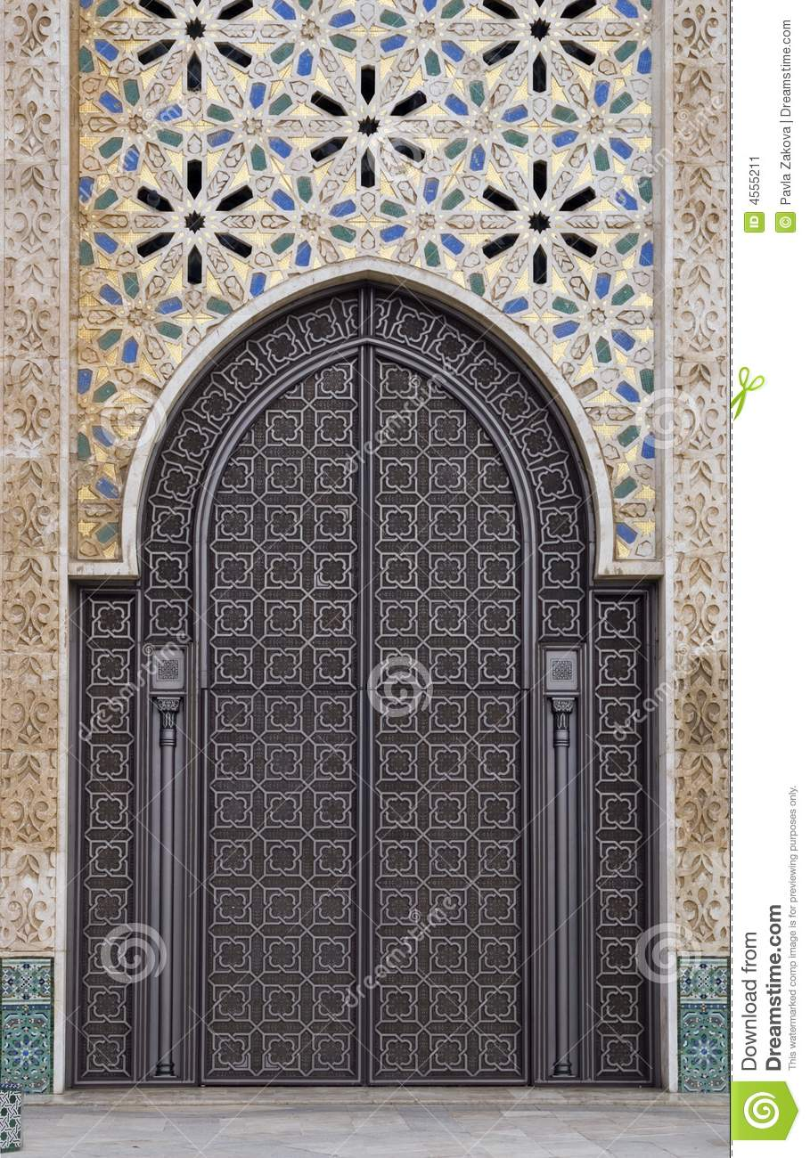 Ornamental Door Stock Image Image Of Design Color
