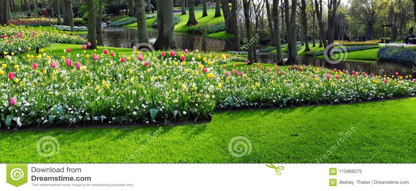 Keukenhof Garden Known As The Garden Of Europe Is One Of The World
