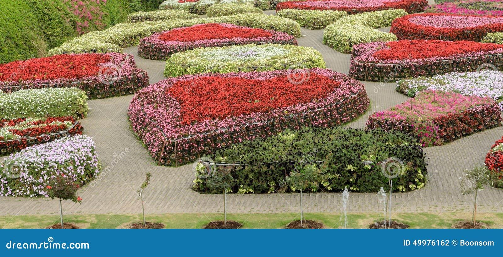 Ornamental flower garden 100 images incorporating for Ornamental trees for flower beds