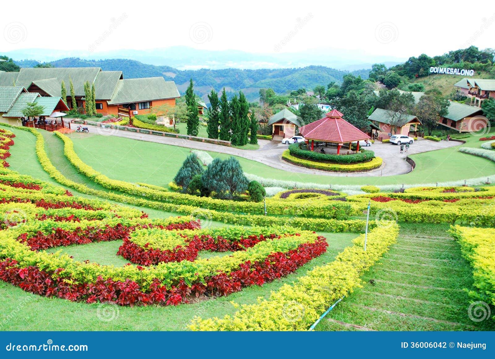 Ornamental garden stock photography image 36006042 for Ornamental garden