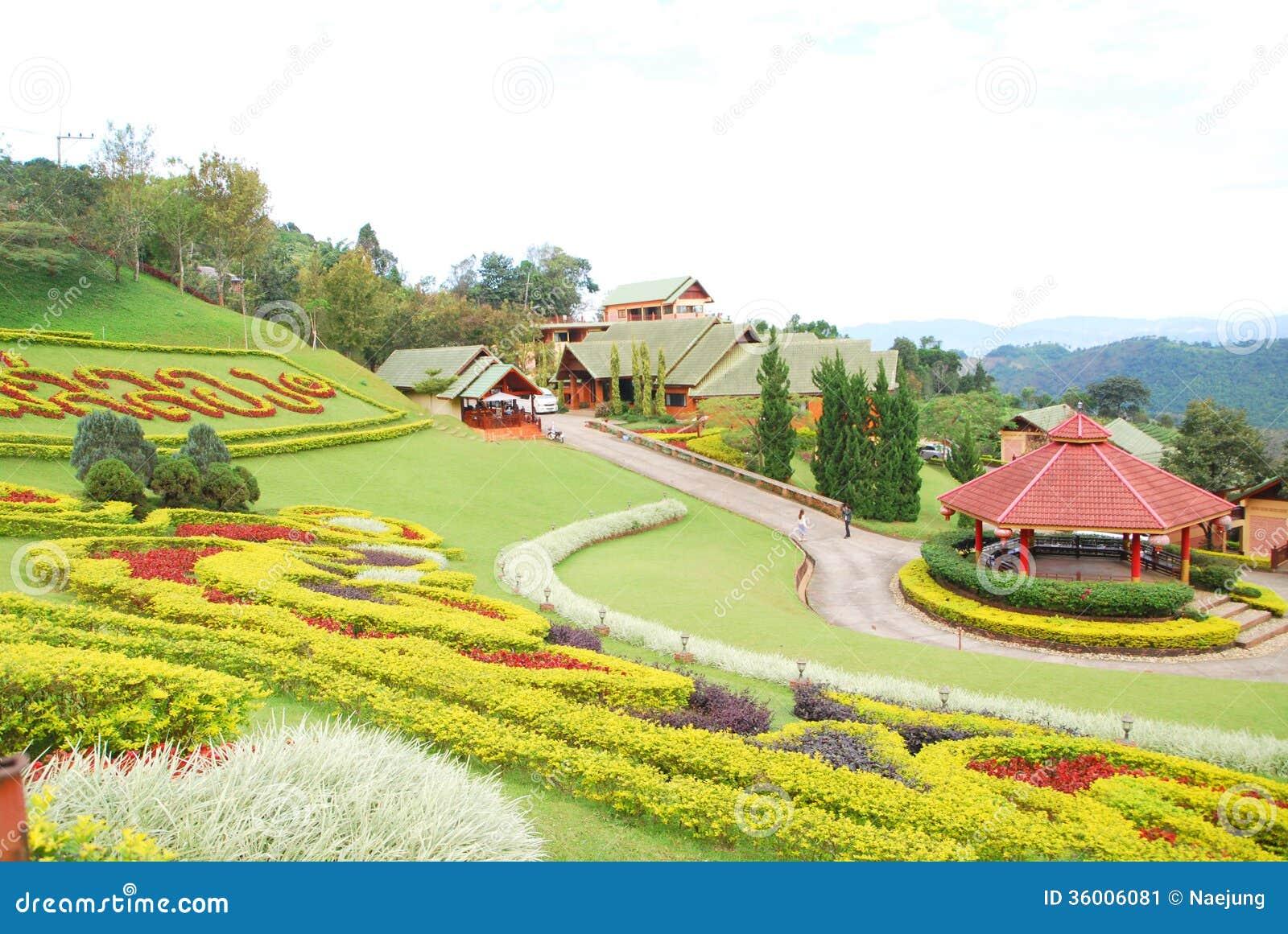 Ornamental garden stock image image of floral botany for Ornamental garden