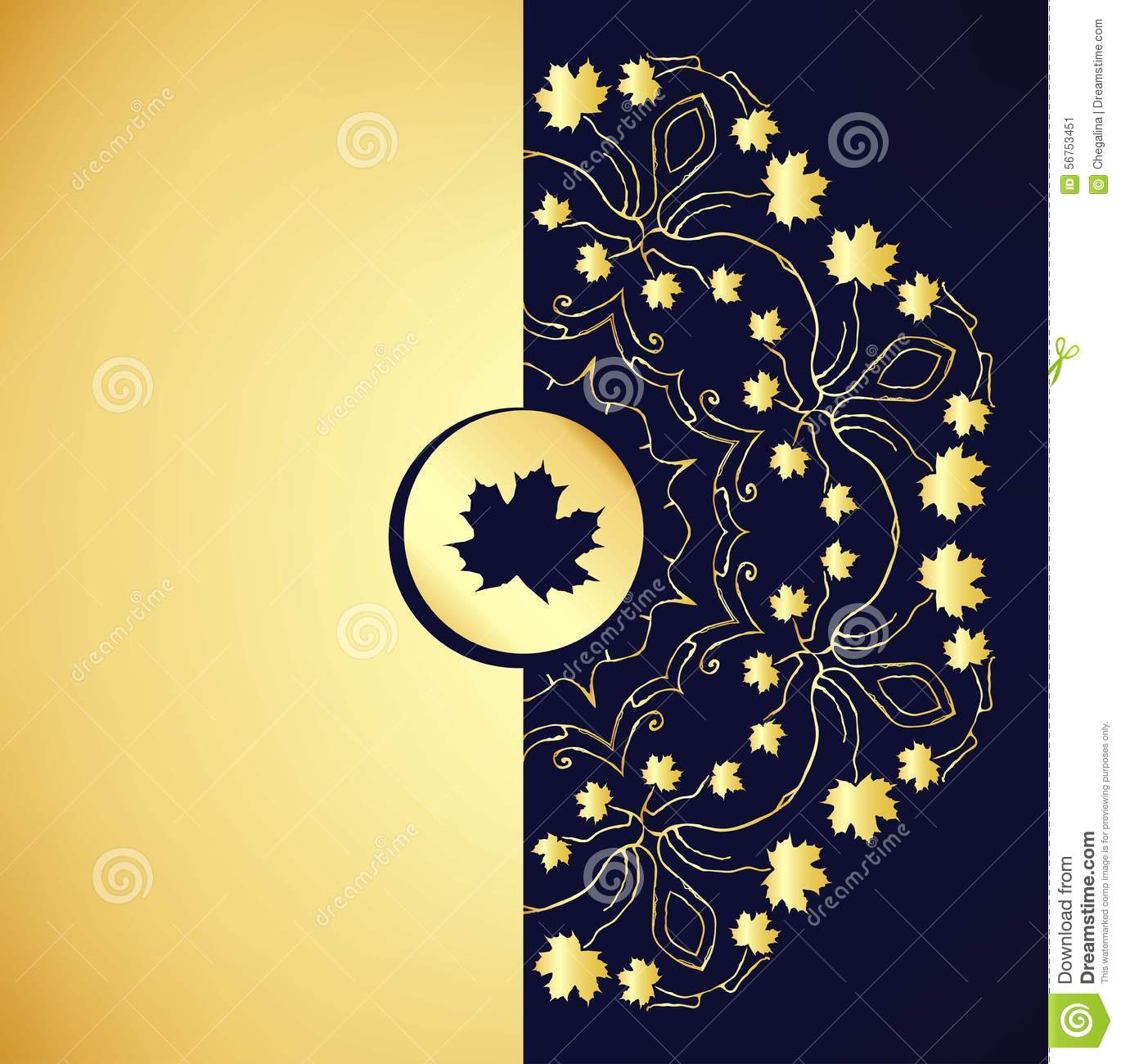 Ornamental gold background stock vector illustration of gold ornamental gold background stopboris Choice Image
