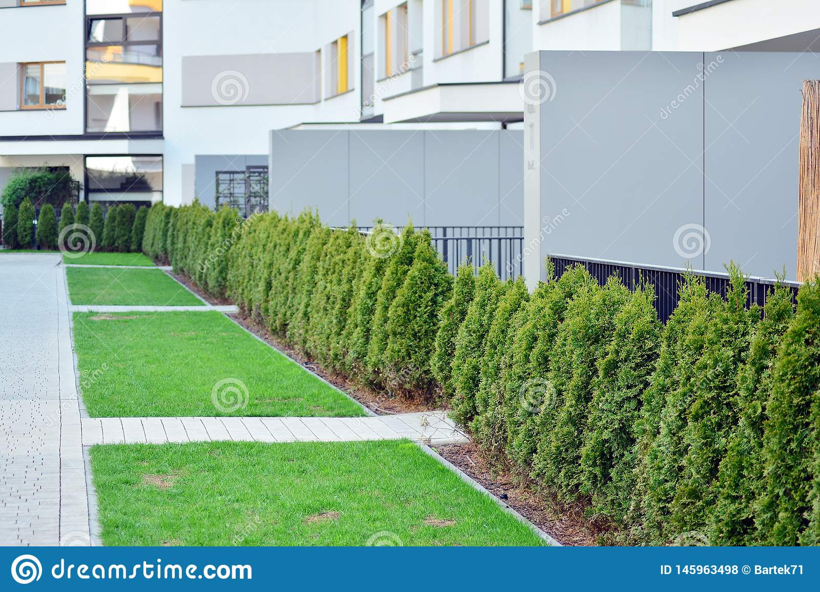 Space building seedlings of trees and shrubs