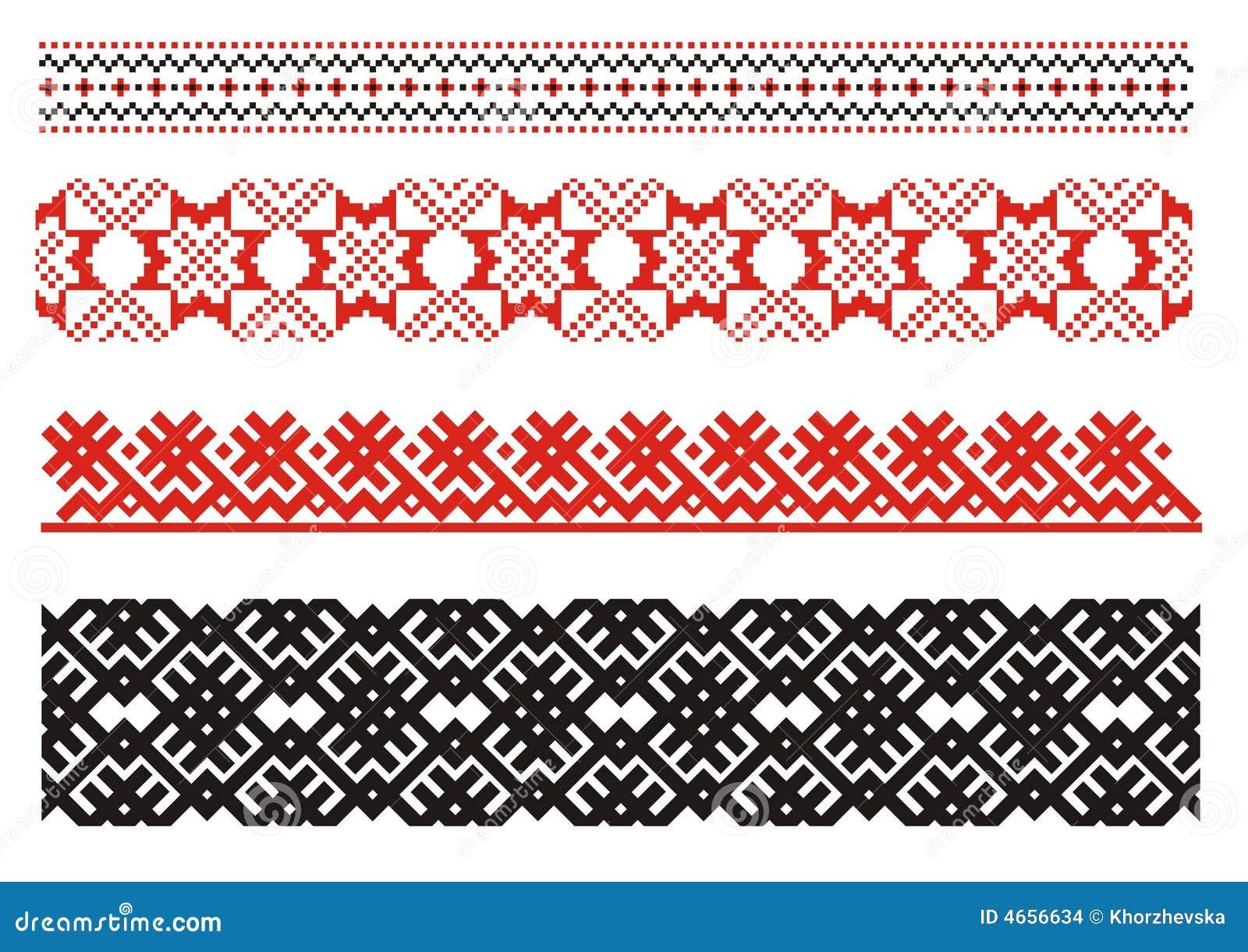 Ornamenten. Oekraïens art.