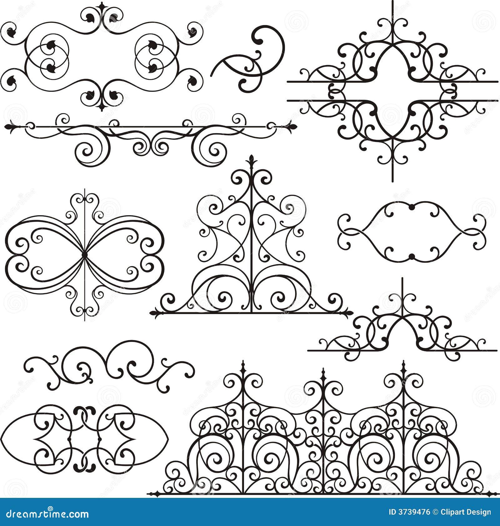 Ornamenti del ferro di Wrough